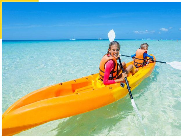 Kayak, Paddle Board, Snorkel Beach Combo 01