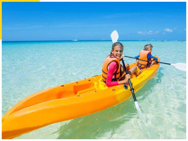 Kayak, Paddle Board, Snorkel Beach Combo 01